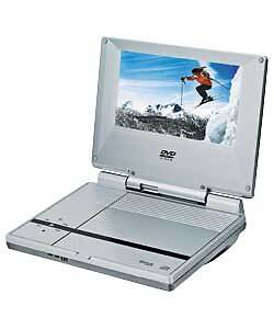argos value range pvs3377 silver portable 7 inch dvd player faulty ebay. Black Bedroom Furniture Sets. Home Design Ideas