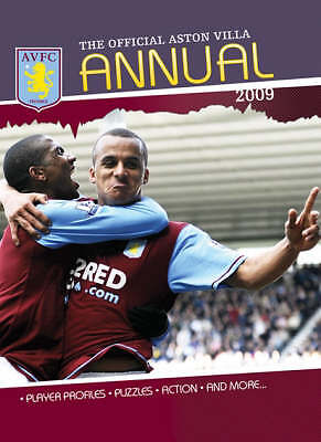 """AS NEW"" Official Aston Villa FC Annual, Rob Bishop, Book"