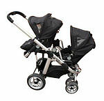 From 6 Months Unisex Prams with Five-point Harness