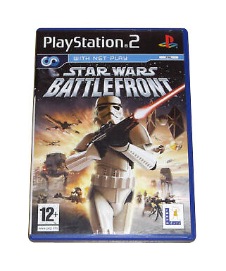 Star Wars: Battlefront (Sony PlayStation 2, 2004) CHEAP PRICE AND FREE POSTAGE