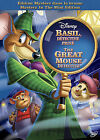 The Adventures of the Great Mouse Detective (DVD, 2010, Canadian; Mystery In the Mist Edition; French)