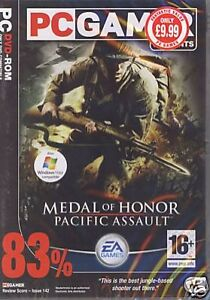 PC  CD ROM  Medal of Honour Pacific Assault PC 2004  European Version - <span itemprop='availableAtOrFrom'>Aberdeen, United Kingdom</span> - PC  CD ROM  Medal of Honour Pacific Assault PC 2004  European Version - Aberdeen, United Kingdom