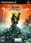 Warhammer 40,000: Fire Warrior (Sony PlayStation 2, 2003)