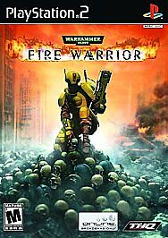 Warhammer 40,000: Fire Warrior (Sony PlayStation 2, 2003) GOOD