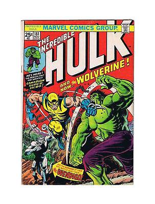 Resultado de imagem para incredible Hulk 181