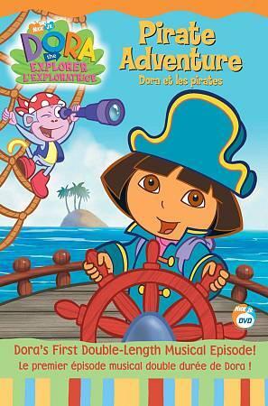 Dora the Explorer - Pirate Adventure (DVD, 2006, Canadian)