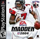 Madden NFL 2004 (Sony PlayStation 1, 2003)