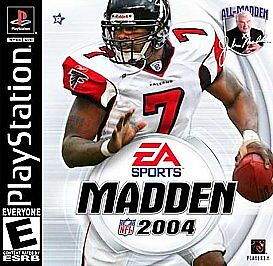Madden NFL 2004 (PLAYSTATION 1) BRAND NEW SEALED CASE HAS SMALL CRACK