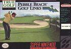 True Golf Classics: Pebble Beach (Super Nintendo Entertainment System, 1992)