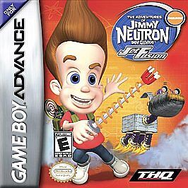 34ba6f4317f Adventures of Jimmy Neutron Boy Genius  Jet Fusion (Nintendo Game Boy  Advance