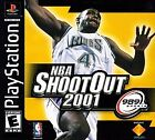 NBA ShootOut 2001 (Sony PlayStation 1, 2000)