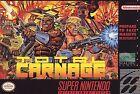 Nintendo Video Games Total Carnage
