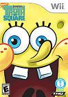 SpongeBob's Truth or Square (Nintendo Wii, 2009) - European Version