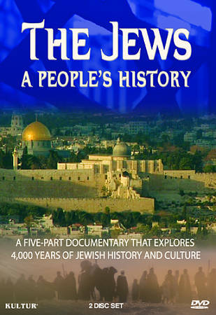 The Jews - A Peoples History (DVD, 2009, 2-Disc Set) New