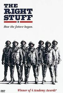 The-Right-Stuff-DVD-WIDESCREEN-Ed-Harris-Scott-Glenn-DENNIS-QUAID-Sam-Shepard