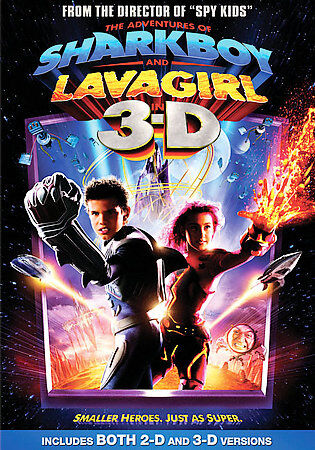 Adventures of Sharkboy and Lava Girl in 3-D (DVD, 2005)