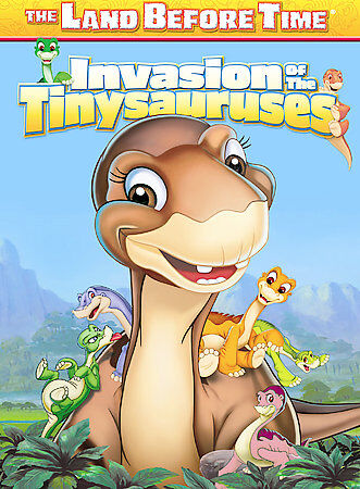 The Land Before Time : Invasion Of The Tinysauruses ( DVD, 2005 )
