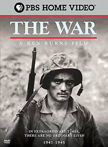 Ken-Burns-The-War-DVD-2007-6-Disc-Set-Widescreen-Brand-New-and-Sealed