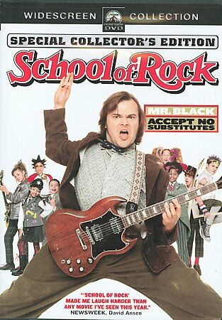 School of Rock (Widescreen Edition), New DVD, Sarah Silverman, Mike White, Joan