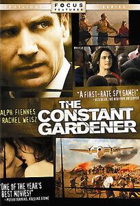 The Constant Gardener DVD Ralph Fiennes