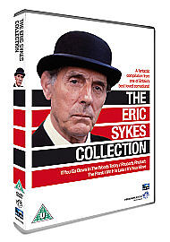 The-Eric-Sykes-Collection-DVD-Brand-New-and-Sealed-Includes-The-Plank-1979