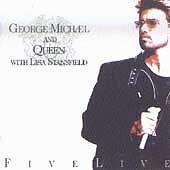 Queen-George-Michael-Five-Live-CD-2001