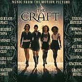 THE CRAFT Soundtrack CD 1996, Sponge, Jewel, Our Lady Peace, Juliana Hatfield  - $3.49