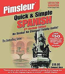 Pimsleur-Quick-Simple-Spanish-1-by-Pimsleur-Language-Programs-2002-Unabridged-Compact-Disc-Pimsleur