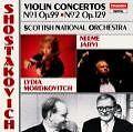 Violinkonzerte 1+2 von SNO,Mordkovitch,Järvi (1990)
