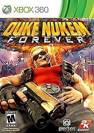 DUKE NUKEM FOREVER-  Xbox 360 Game Only