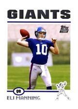Eli Manning Original Football Trading Cards Season 2004