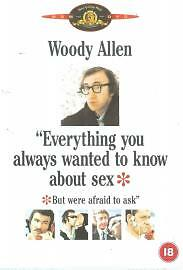 Everything You Always Wanted To Know About Sex . Dvd. Region 2. Woody Allen