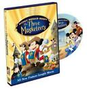 The Three Musketeers (DVD, 2004, Anmated)
