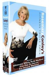 Rosemary Conley DVD 2005 3Disc Set - <span itemprop=availableAtOrFrom>Bradford, United Kingdom</span> - Rosemary Conley DVD 2005 3Disc Set - Bradford, United Kingdom