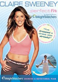 Claire-Sweeney-Perfect-Fit-Weight-Watchers-NEW-SEALED-DVD-FREE-Menu-Plan-Book