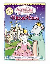 Angelina Ballerina - Princess Dance (DVD, 2006)