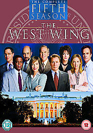 The West Wing: Complete Season 5 [2001] [DVD], Good DVD, Martin Sheen, Jason Ens