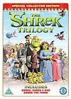 Shrek Trilogy (DVD, 2007, 3-Disc Set, Box Set)