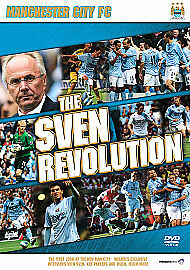 MANCHESTER CITY SVEN REVOLUTION DVD MAN CITY FOOTBALL