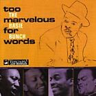 Count Basie - Too Marvelous for Words (1999)