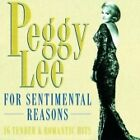 Peggy Lee - For Sentimental Reasons (16 Tender & Romantic Hits) (CD 1996)