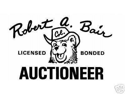 Bob Bair Auctioneer