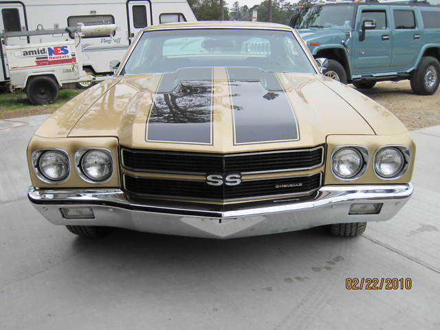 "1970 CHEVROLET CHEVELLE SS ""454 BIG BLOCK"""
