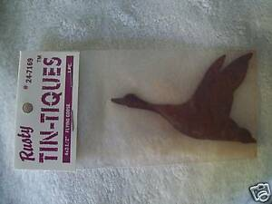 """RUSTY TIN - TIQUES FLYING GOOSE 4X2-1/2"""""""
