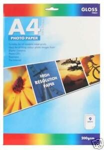 Photo-Paper-A4-Gloss-Finish-x-9-Sheets