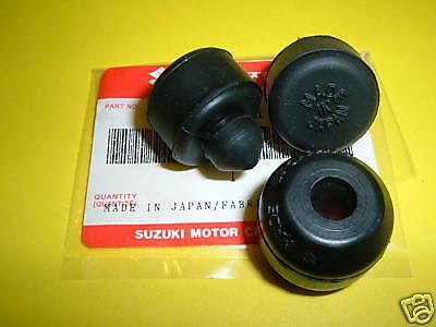 Suzuki Gt750, Gt550, Re5 Center And Side Stand Bumper Set Nosoem
