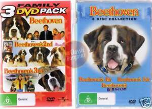 BEETHOVEN-1-2-3-4-5-6-DVD-Collection-NEW-amp-SEALED-R4