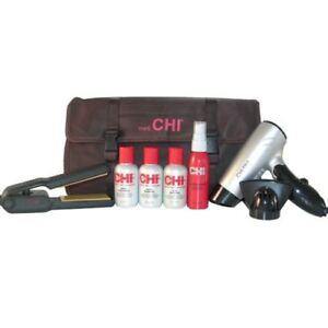 New Chi Mini Travel Flat Iron 1 Quot Hair Straightener Amp Dryer