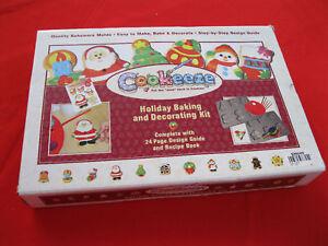 NIB-COOKEEZE-COOKIE-BAKING-DECORATING-KIT-BOX