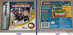 games see more backyard baseball nintendo game boy advance